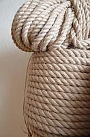 Канат джутовый 26 мм. (веревка джутовая), фото 1