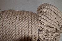 Канат джутовый 16 мм. (веревка джутовая), фото 1