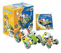 Пластиковый конструктор 2555-11 (2 модели машин)