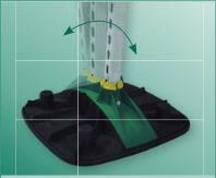 Опорная система BIS Yeti ® 480 вертикальная - с антивибрационным ковриком. Артикул 6768 5 011