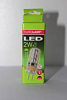 Лампа капсульная LED G4 2W 220V 3000К теплый свет