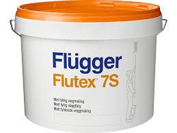 Краска Flügger Flutex 7S шелковисто-матовая (сатиновая) воднодисперсионная