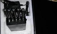 Глушилка GSM/CDMA/DCS/PHS/GPS/3G переносная с охлаждением