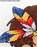 """Набор для вышивки крестиком ЛанСвит """"Зоркий глаз"""" Д-039, фото 4"""