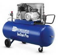 Компрессор масляный с ременным приводом, вход 486л/мин., 10бар, 3.0 кВт, 69кг  Ceccato BELTAIR PRO 90С4R.