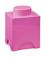 Одноточечный розовый контейнер для хранения Lego PlastTeam 40011739, фото 1