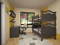 Двухъярусная кровать Трансформер 10 сосна