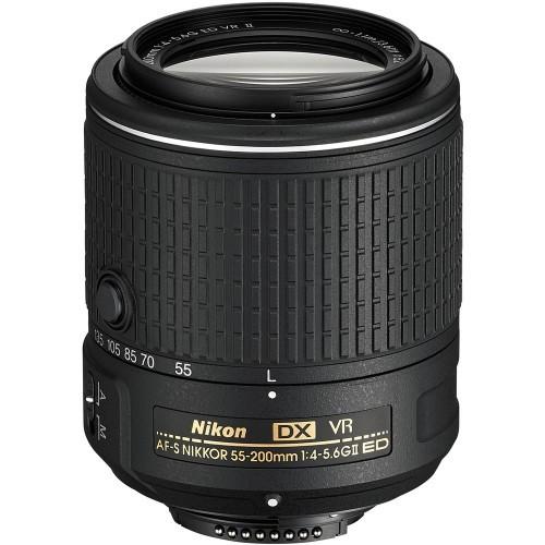 Nikon AF-S 55-200mm f/4-5.6G ED DX VR II ( на складе )