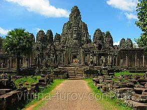 """Экскурсионный тур в Камбоджу """"Камбоджа"""" на 2 дня / 1 ночь"""
