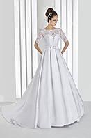 Свадебные платья атласные