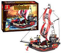 Конструктор Пиратский корабль Sluban, 379 деталей, арт. 619932/M 38 B 0127 HN KK