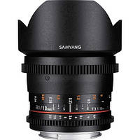 Samyang 10mm T3.1 Cine ED AS NCS CS for Canon (в наличии на складе)