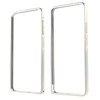 Чехол бампер металл Hippocampal Buckle для Samsung Galaxy A7 2016 A710 серебро