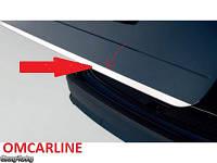Накладка на кромку крышки багажника Шкода Рапид седан (нерж) OMCARLINE Турция.