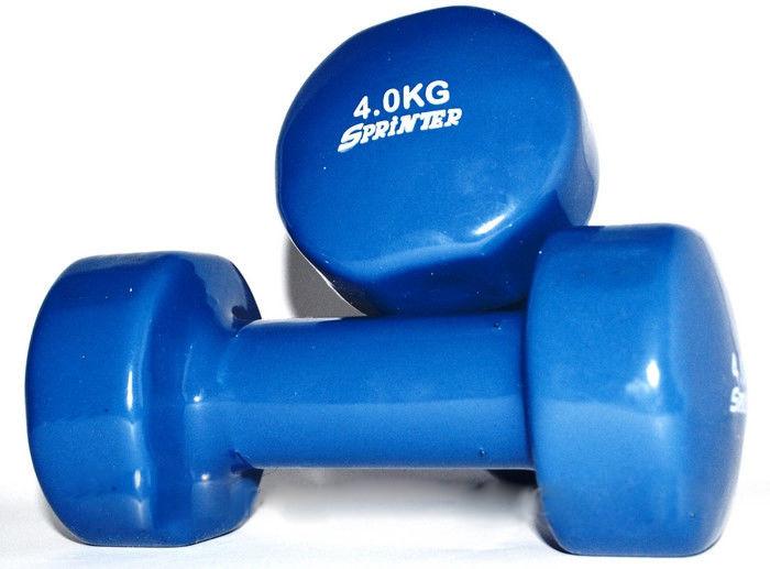 Гантель виниловая SPRINTER 4 кг