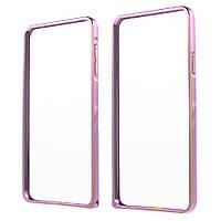 Чехол бампер металл Hippocampal Buckle для Samsung Galaxy A7 2016 A710 розовый