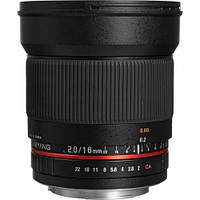 Samyang 16mm f/2.0 ED AS UMC CS for Canon (в наличии на складе)
