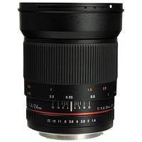 Samyang 24mm f/1.4 ED AS UMC (для Canon)