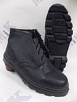 Ботинки рабочие клеепрошивные мужские кожаные