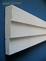 Подоконная планка декоративная, фасадная П001