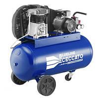 Компрессор масляный, 90л., 230В/50Гц, вход 320л/мин., давление 10бар, 2.2 кВт, 58 кг Blueline 90BC3.