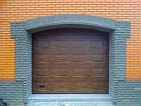 Секционные гаражные ворота Alutech Classic (Филёнка)