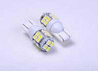 Світлодіодна автолампа для цоколя T10- W5W 20SMD (3020)