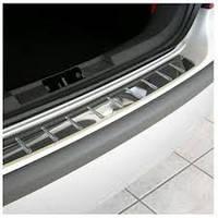Накладка из стали на задний бампер OmsaLine (нерж.) BMW X3 F25 2011+