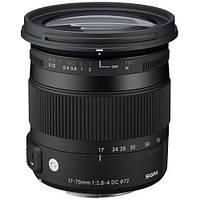 Sigma 17-70mm f/2.8-4.0 DC Macro OS HSM Nikon Contemporary (в наличии на складе)