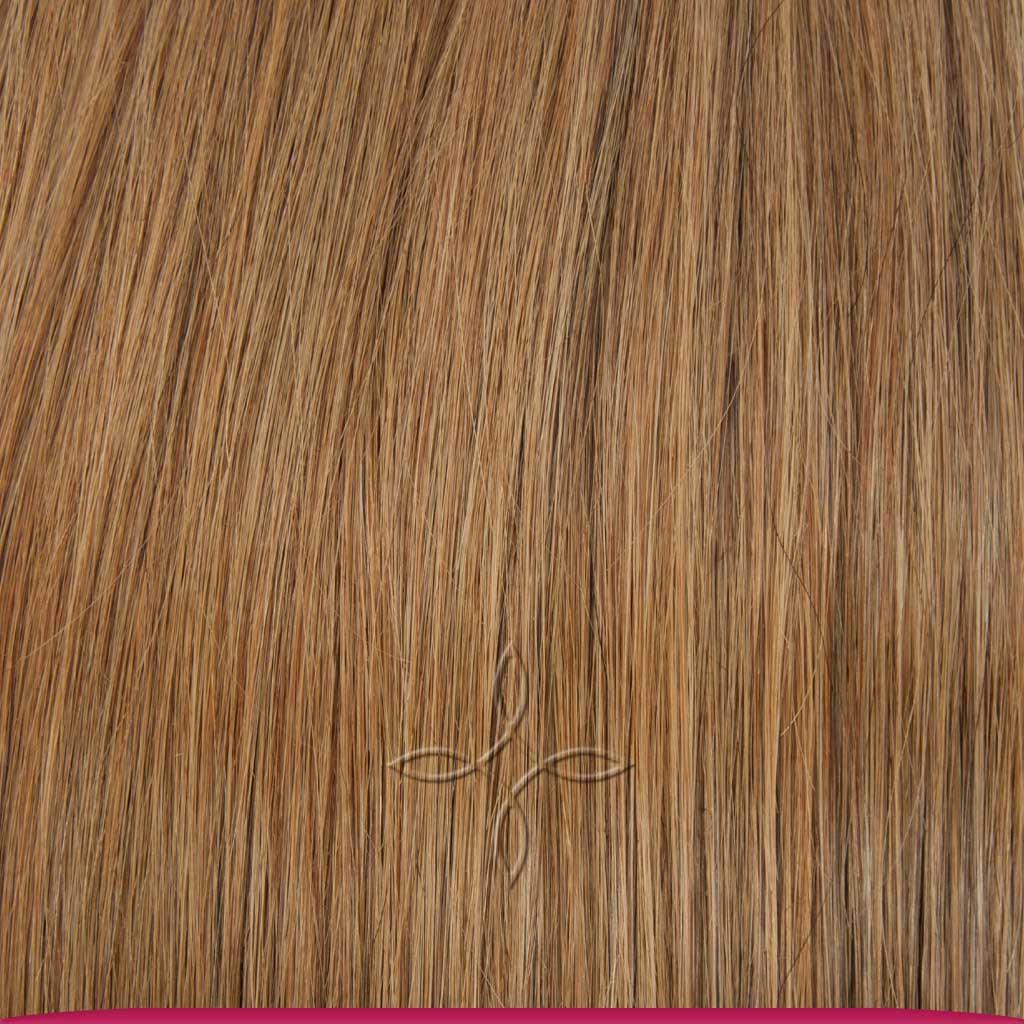 Натуральные Европейские Волосы на Заколках 40 см 110 грамм, Русый №12
