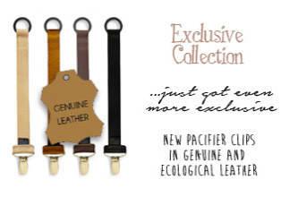 НОВИНКА - Кожаные держатели для пустышек от Elodie Details