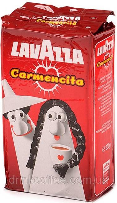 Кофе молотый Lavazza Carmencita, 50% Арабика/50% Робуста, Италия, 250 г
