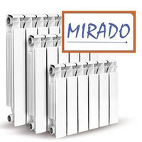 Алюминевый радиатор  MIRADO 80x500