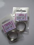 Проволока с памятью: цвет серебро, диаметр кольца 30 мм, диаметр стержня проволоки 0,8 мм., фото 2