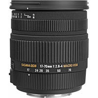 Sigma 17-70mm f/2.8-4.0 DC Macro OS HSM (для Canon)