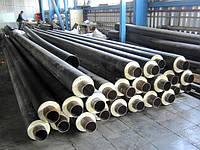 Теплоизолированные стальные трубы в полиэтиленовой оболочкой