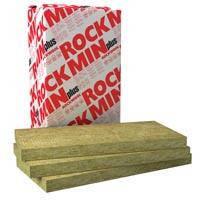 """Вата минеральная """"Rockwool """"Rockmin Plus"""", 5 см, плотность 31 кг/куб.м, уп. 10,8 кв.м"""