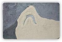 Коврик для ванной Olivia серый 60x90 см, Bisk B00146