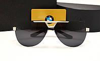Мужские солнцезащитные очки BMW 81009 цвет черный с серебром