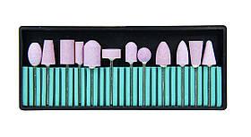 Набір керамічних насадок для фрезера 12 шт