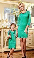 Яркое стильное детское платье