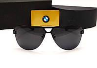 Мужские солнцезащитные очки BMW 81009 цвет черный