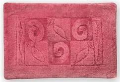 Коврик для ванной Aztec розовый 60x90 см, Bisk B00795