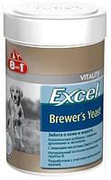 Витамины для кожи и шерсти собак и кошек 8 в 1 Excel Brewers Yeast, 50 таблеток