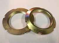 Гайка ГОСТ 11871-88 круглая шлицевая с метрической резьбой, оц., нержавеющая А2, А4 и латунная