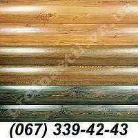 Сайдинг металлический блок-хаус Светлый дуб, темный дуб, Сосна