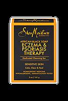 Черное африканское мыло Shea Moisture. Для борьбы с экземой и псориазом.