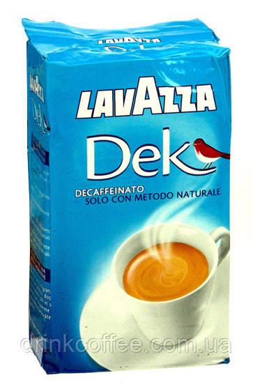 Кава мелена Lavazza DEK, без кофеїну, Італія, 250 г