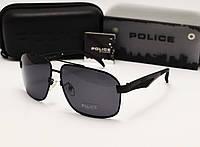 Мужские солнцезащитные очки Police  6814 цвет черный