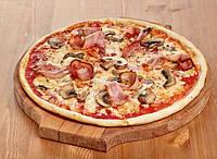 Пицца с телятиной и грибами